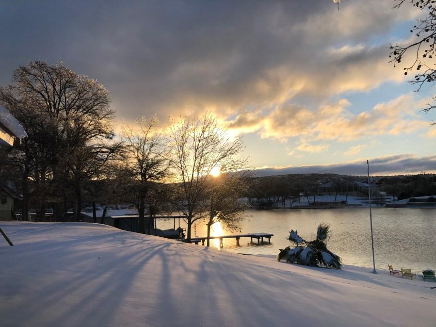 Lake LBJ in Kingsland Courtesy Lydia Miller