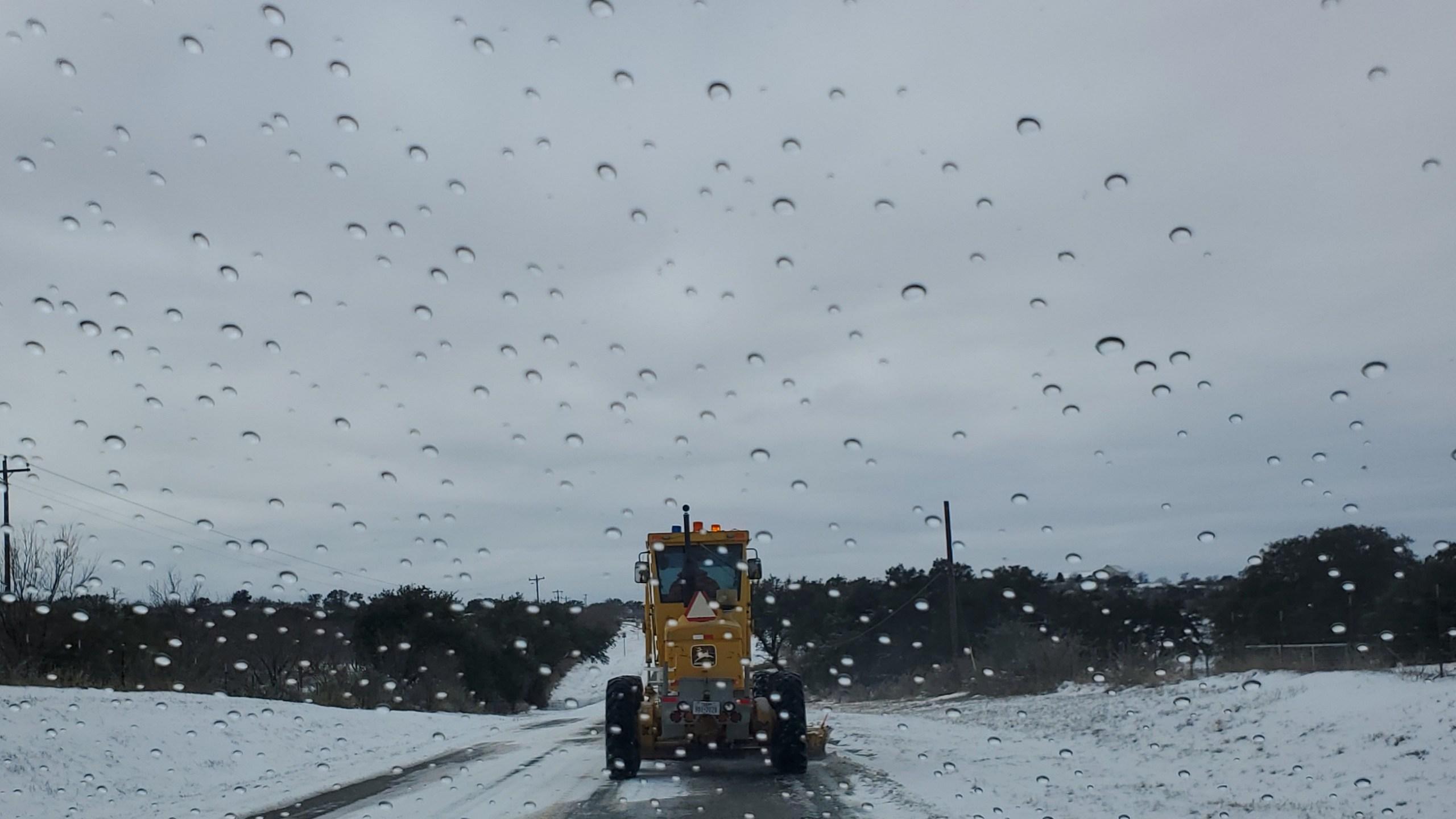 Llano in snow