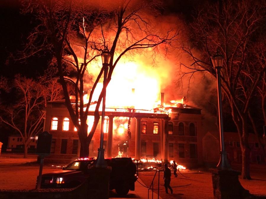 Mason County Courthouse Fire