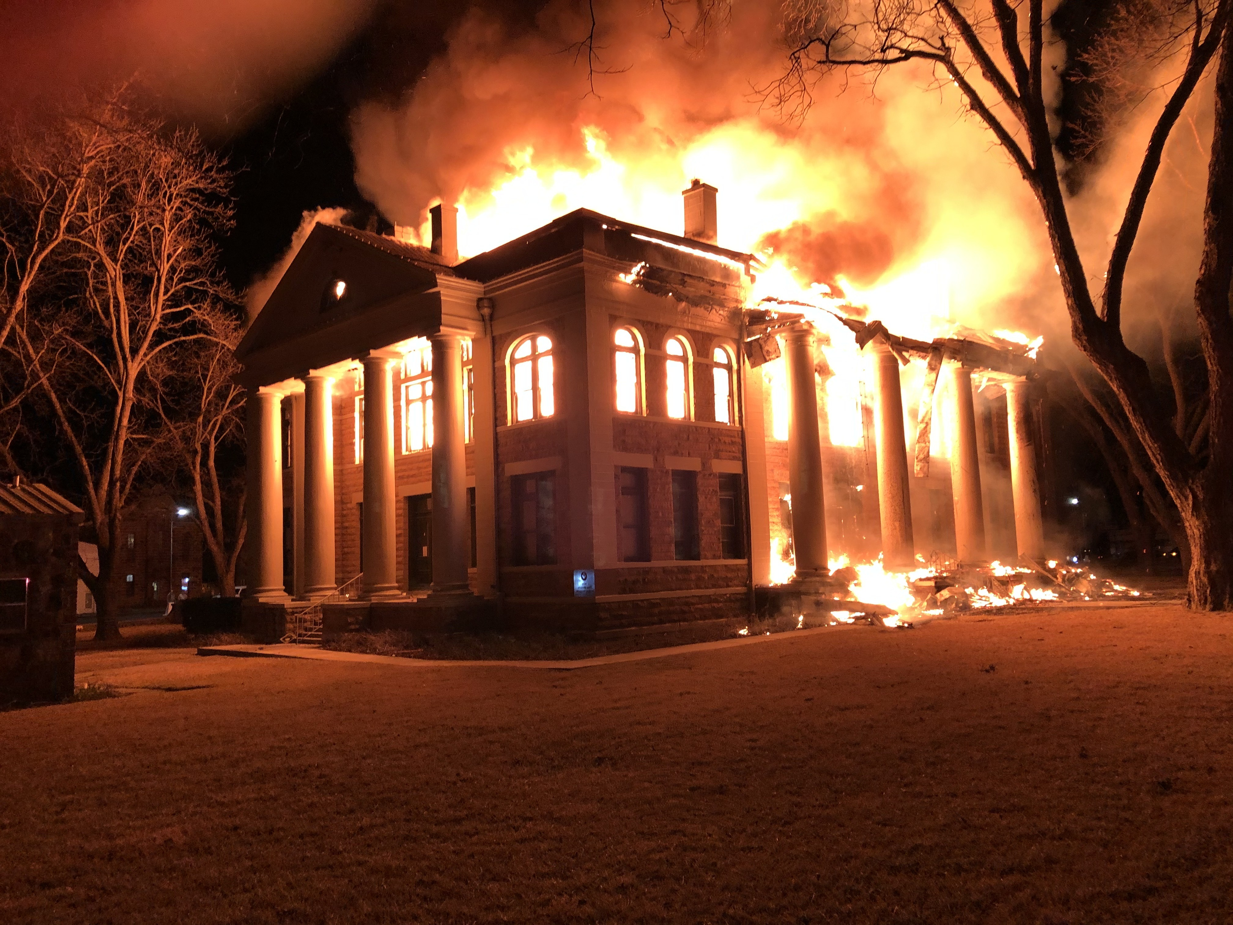 Mason County Courthouse Fire