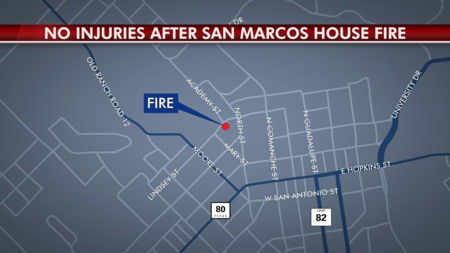 San Marcos house fire
