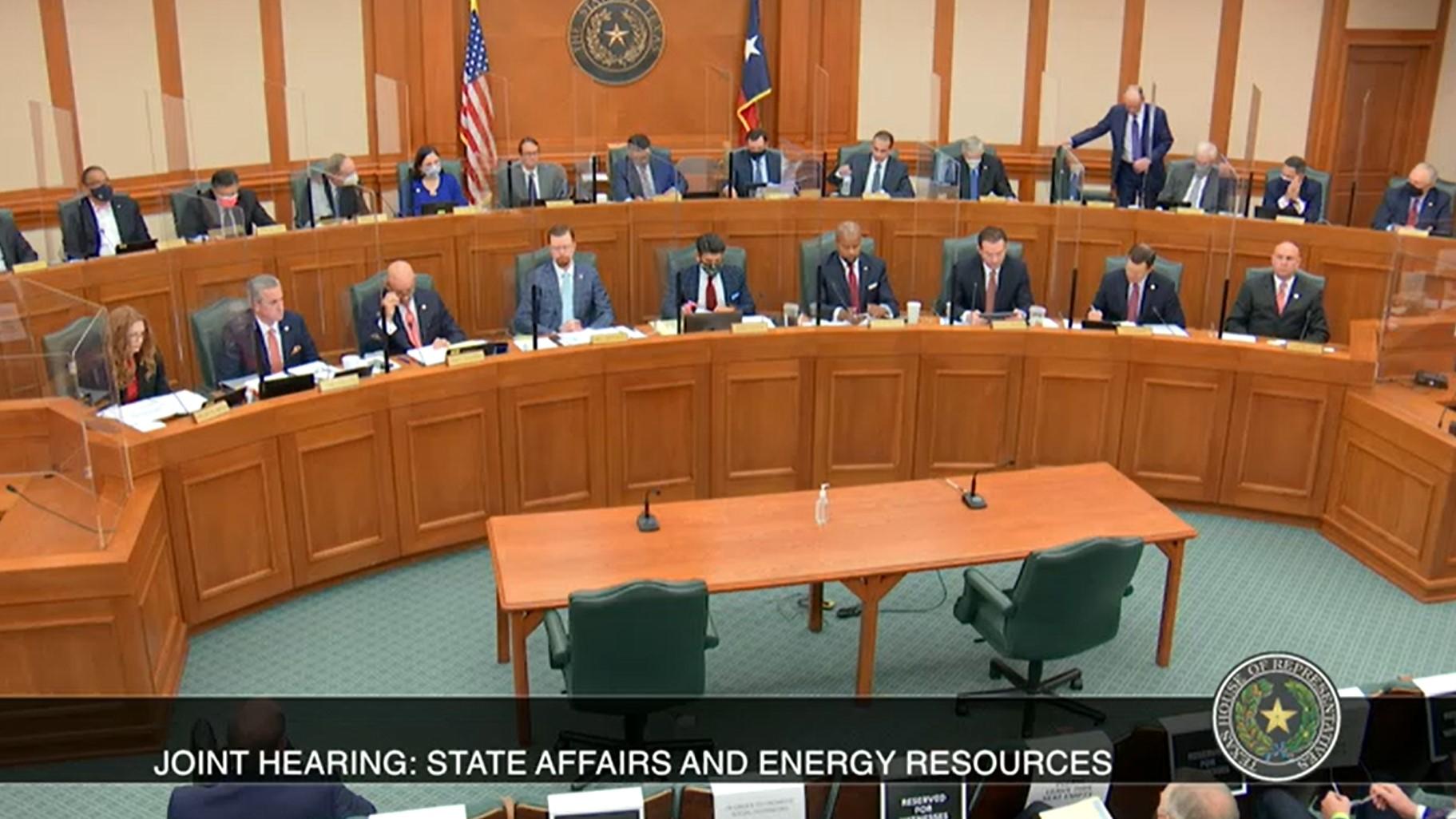 Texas House hearing