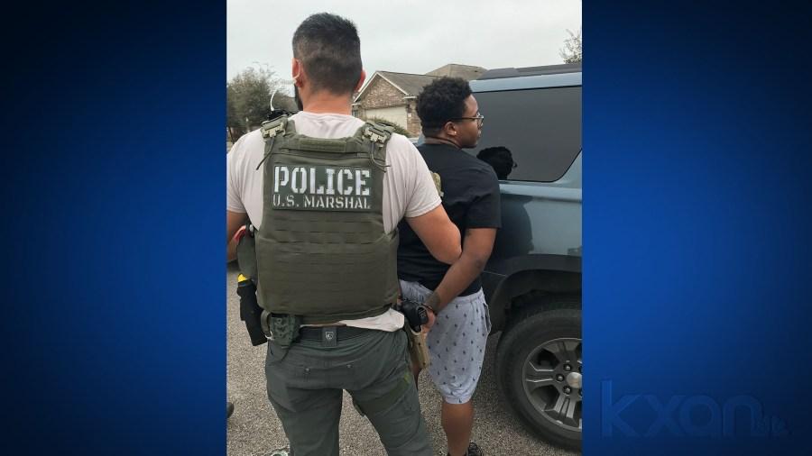Christopher Williams arrest (US Marshals Photo)