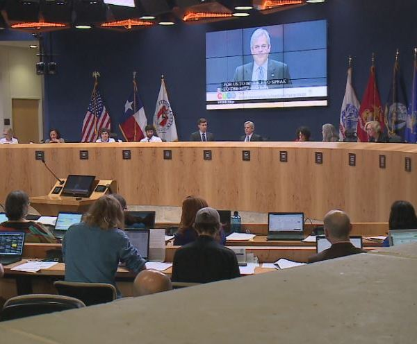 Austin City Council in 2019 at Austin City Hall. (KXAN Photo)