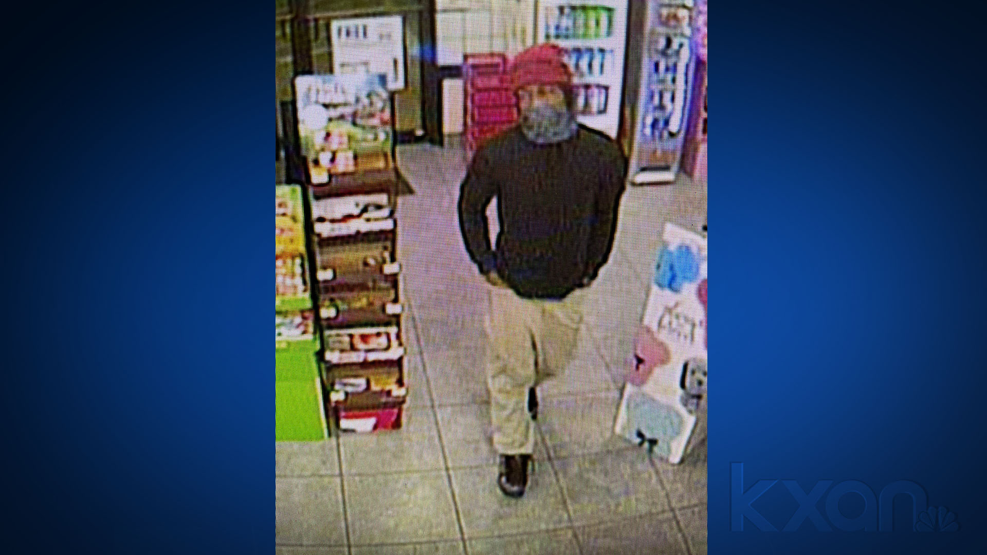 Suspect accused in two overnight robberies (New Braunfels Police Photo)