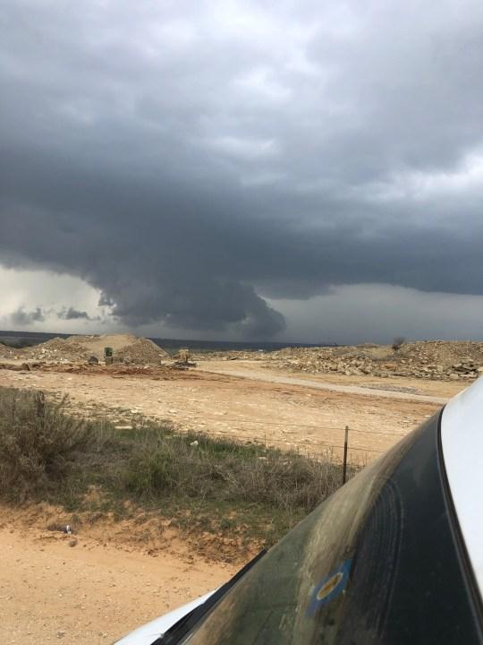 San Saba storm cloud 3-24-21