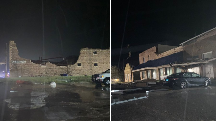 Bertram storm damage