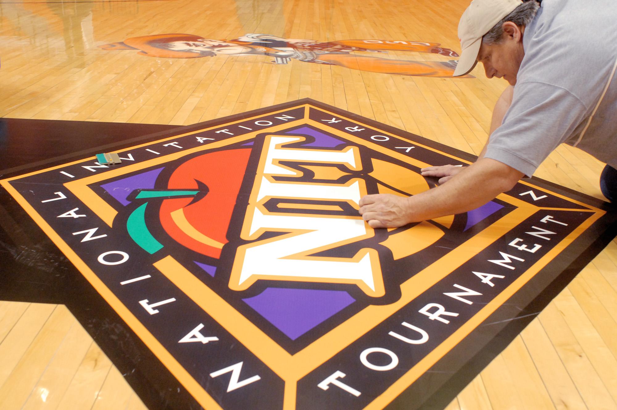 NIT basketball logo