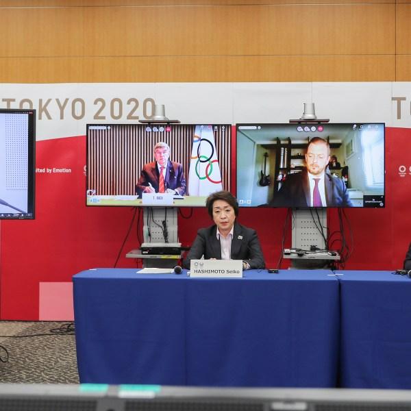 Virus Outbreak Tokyo Olympics