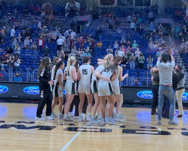 Cedar Park girl's basketball state championship