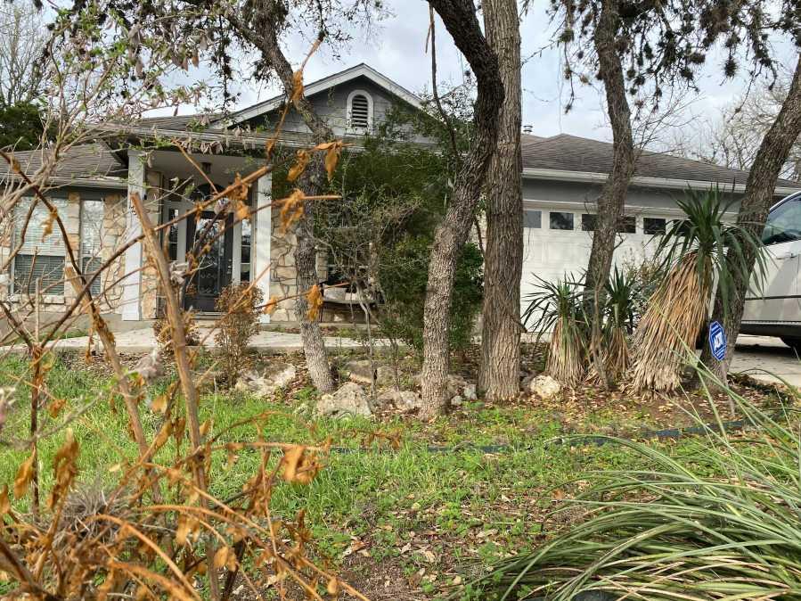 Home of Cheryl Ritzer off North Bishop Street in San Marcos (KXAN/Tahera Rahman)