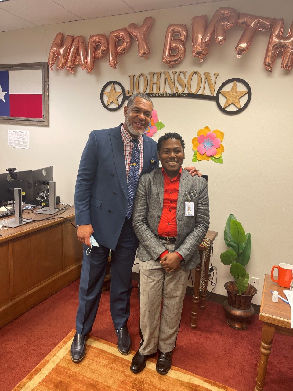 André Harris moved to Texas so he can advocate for those battling the rare genetic disorder. (Courtesy: André Harris)