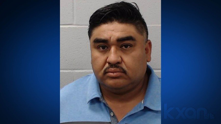 Andres Ivan Carrion Guevera, 38, of Minnesota (Hays County Sheriff's Office Photo)
