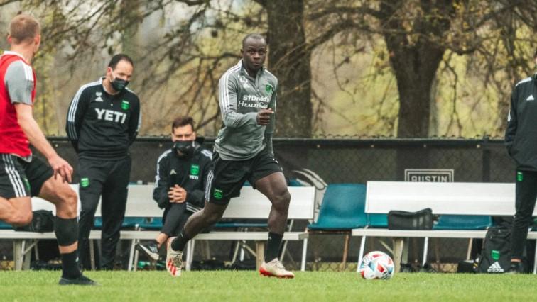 Austin FC forward Kekuta Manneh