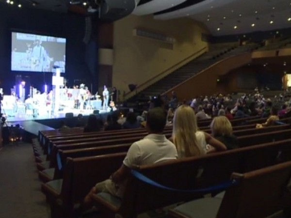 Austin church service