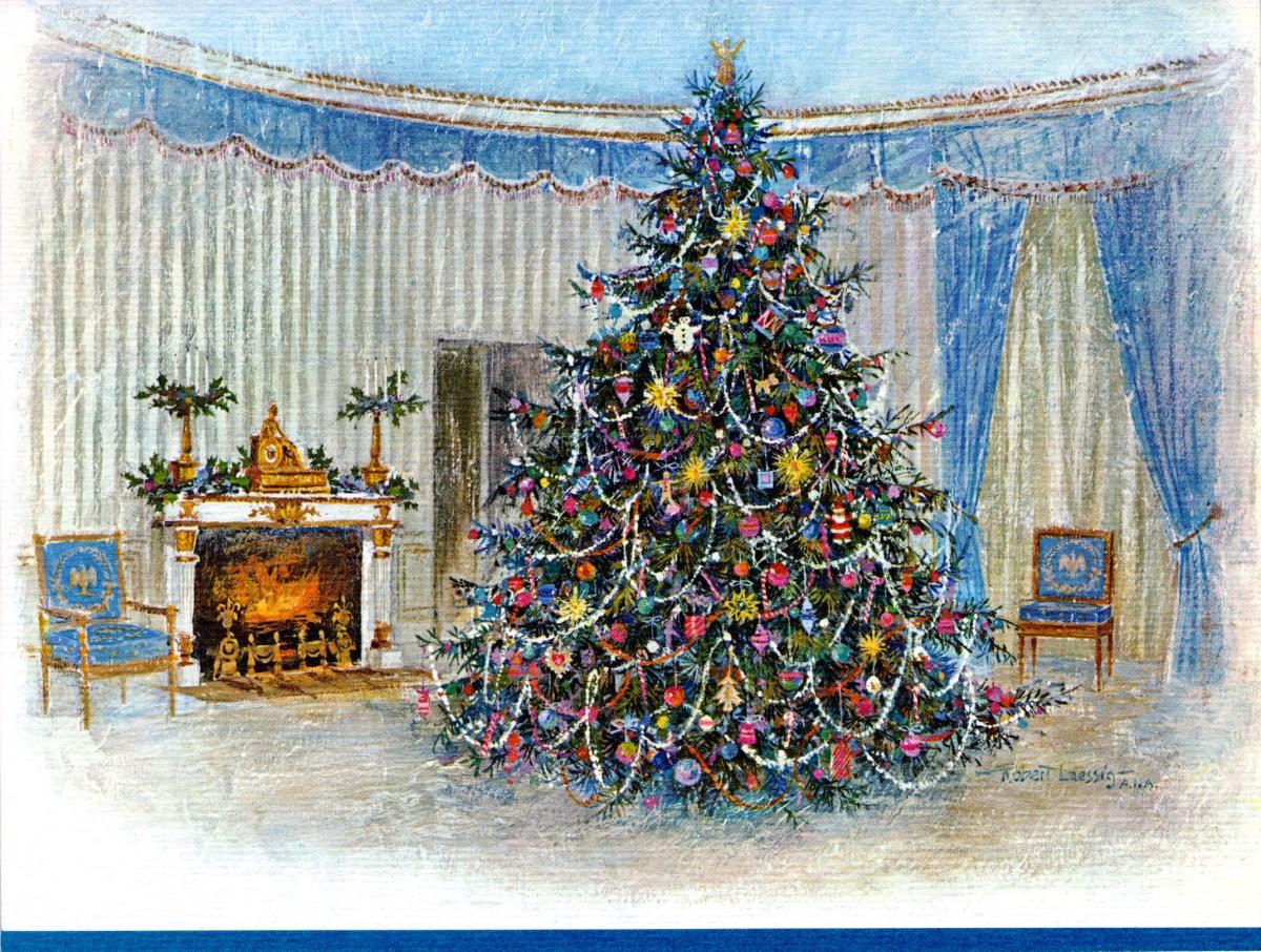 White House Christmas 2021 Ornament Revealed 2021 White House Christmas Ornament Featuring Lyndon B Johnson Unveiled Kxan Austin