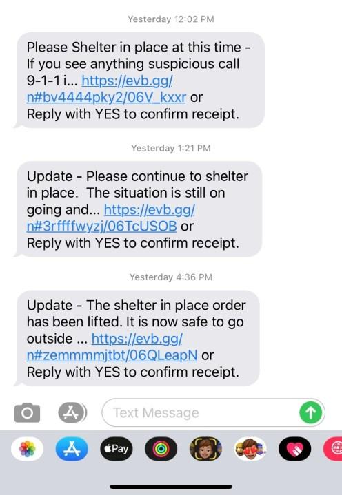 Stephen Broderick text alert 04192021