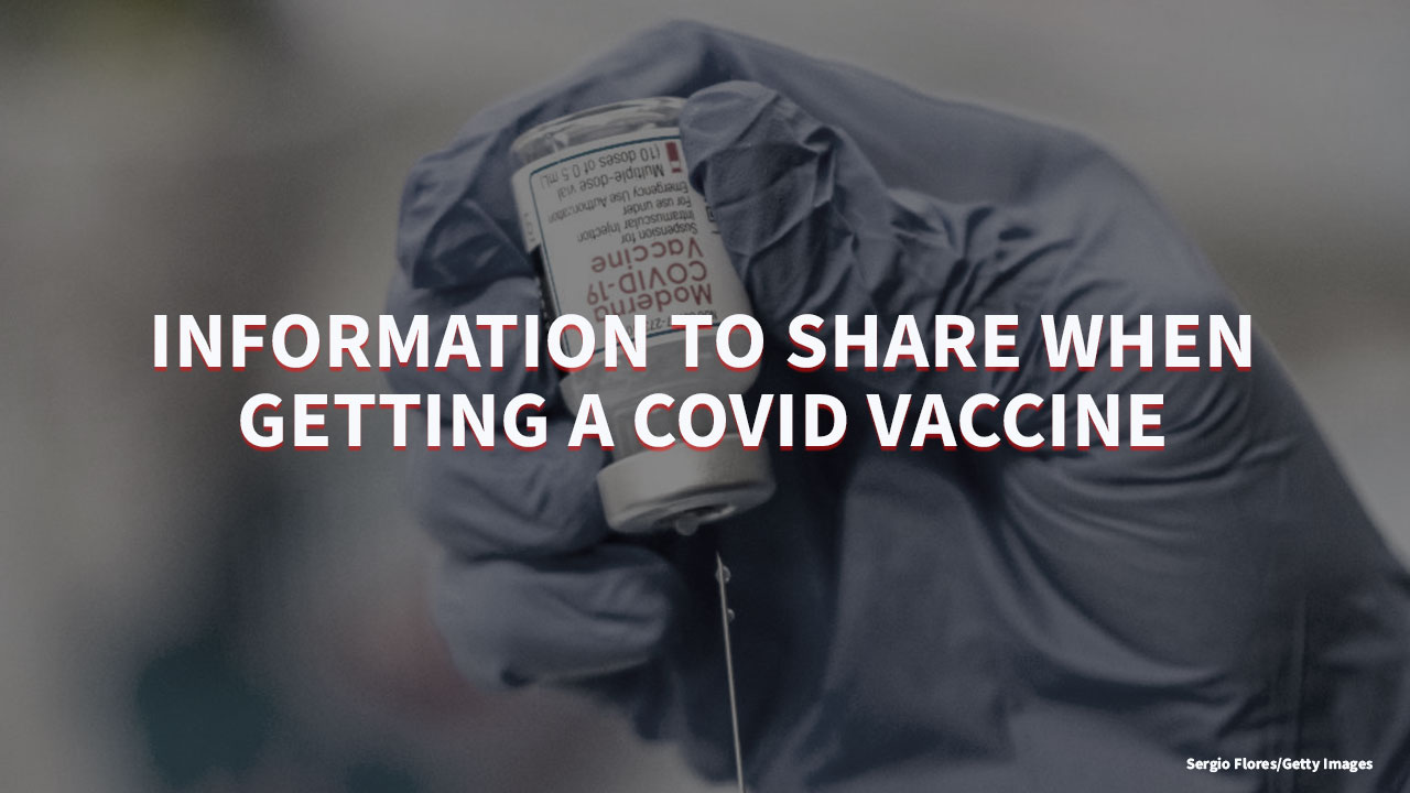 People will have to share some personal information to receive a COVID-19 vaccine, but should be on the lookout for scams (KLBK/KAMC Photo/Erica Pauda)