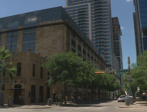 Downtown Austin (KXAN Photo/Ed Zavala)