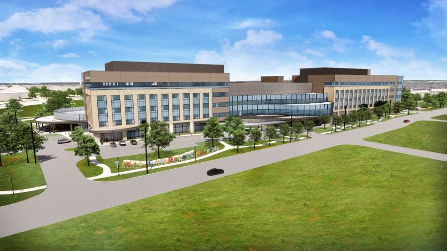 East Aerial, Texas Children's Hospital