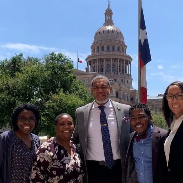 State Rep. Jarvis Johnson and advocates testified in April about establishing a statewide sickle cell disease registry. (Courtesy: André Harris)