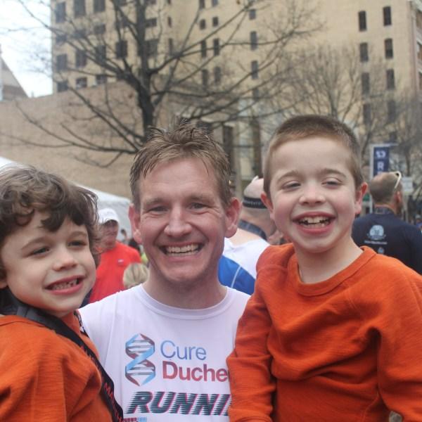 Tim Revell running Austin Marathon for Duchenne