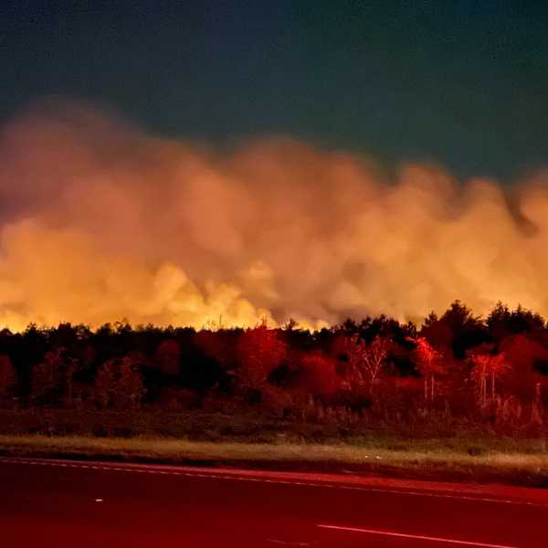 Bastrop County wildfire 4-10-21