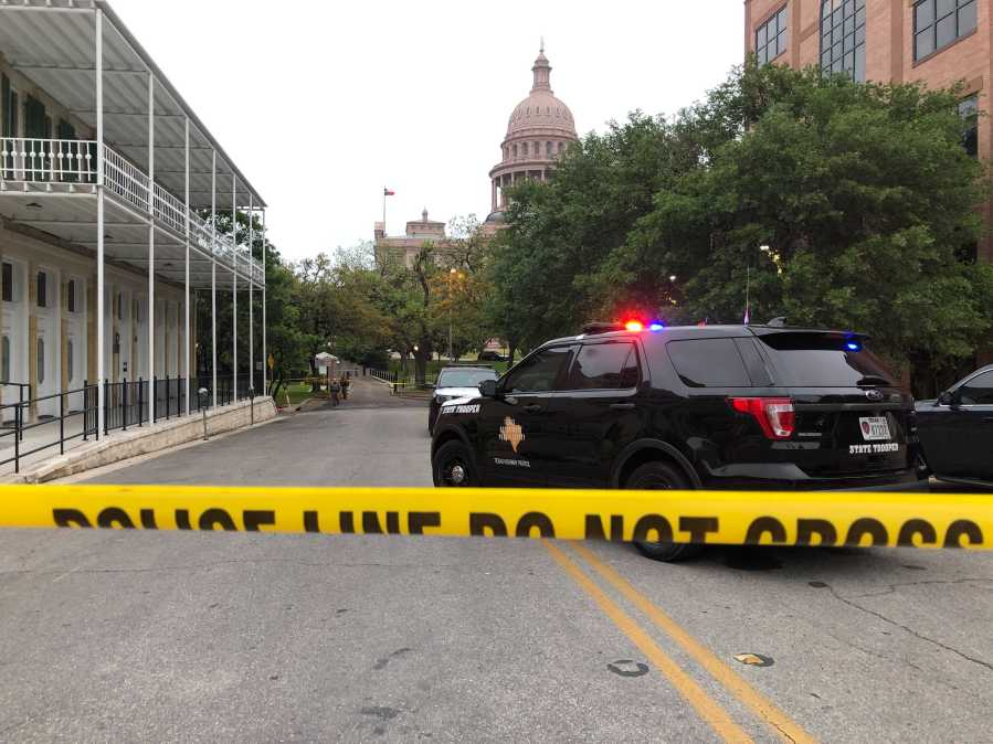 DPS trooper hits pedestrian