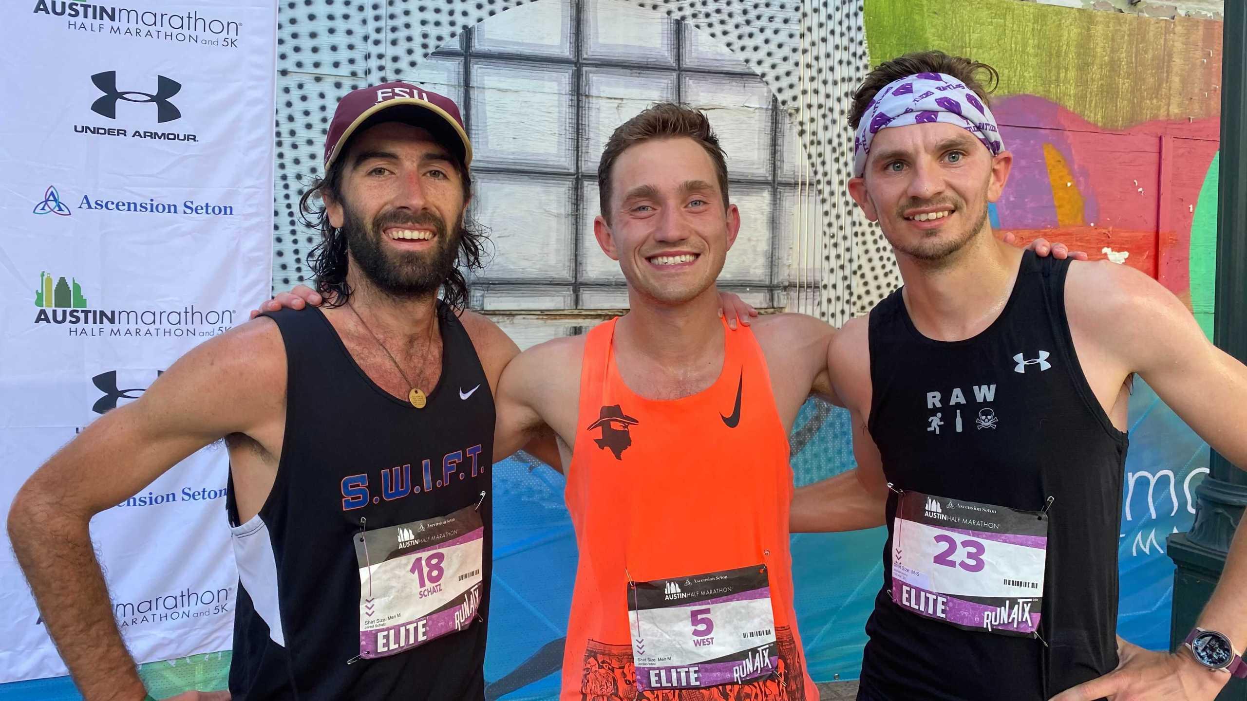 2021 Austin Half Marathon winners