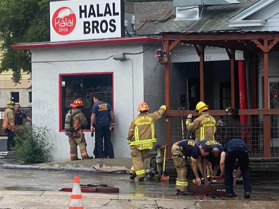 Halal Bros fire