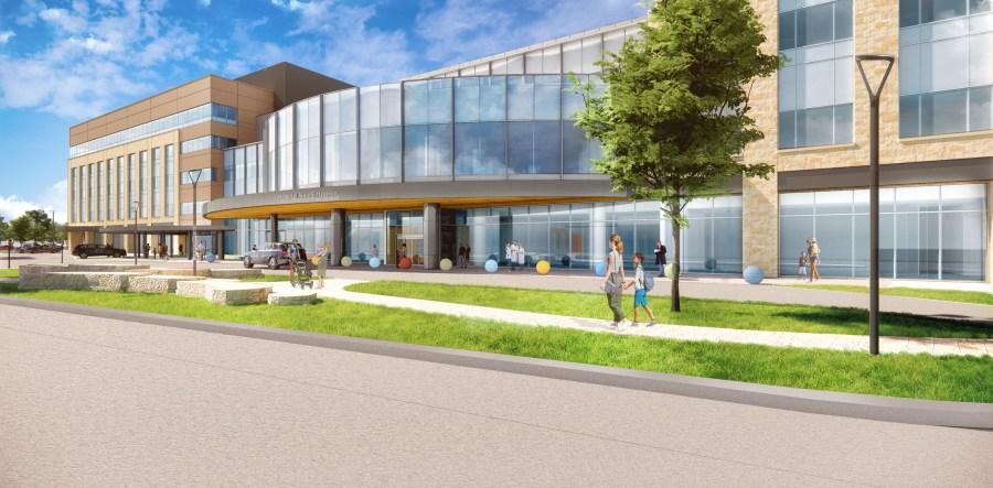 Main Entry 4, Texas Children's Hospital
