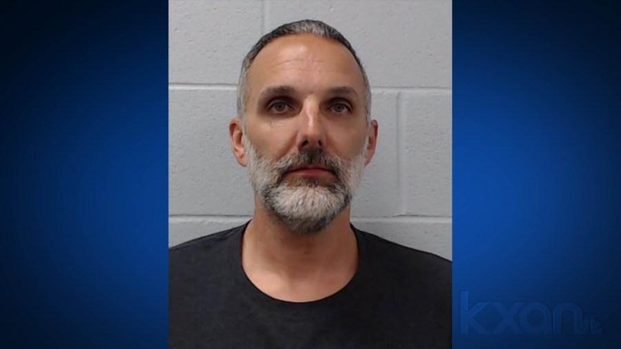 Todd Matthew Strine, 46, of New Braunfels (Hays County Sheriff's Office Photo)