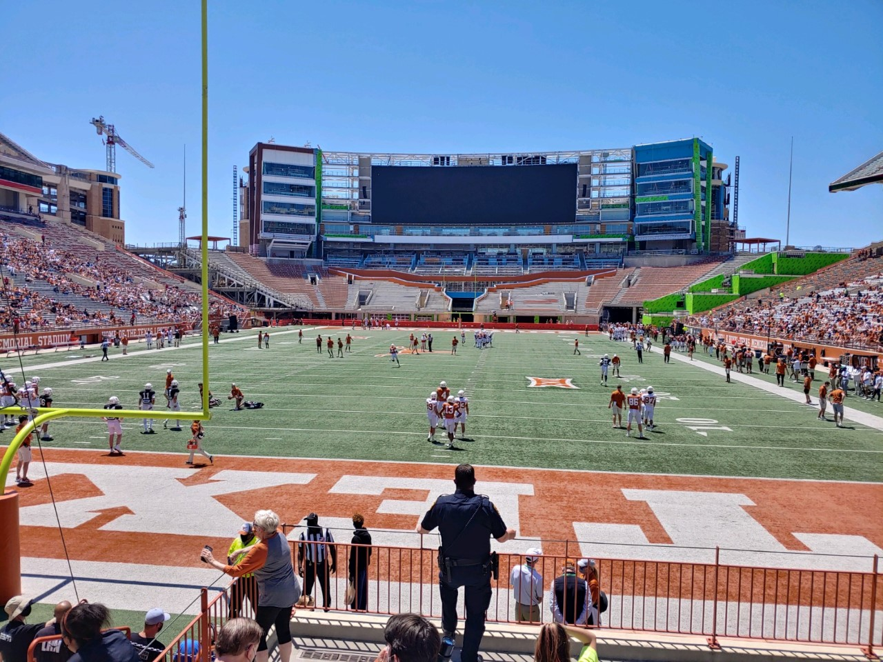 UT south end zone 2021