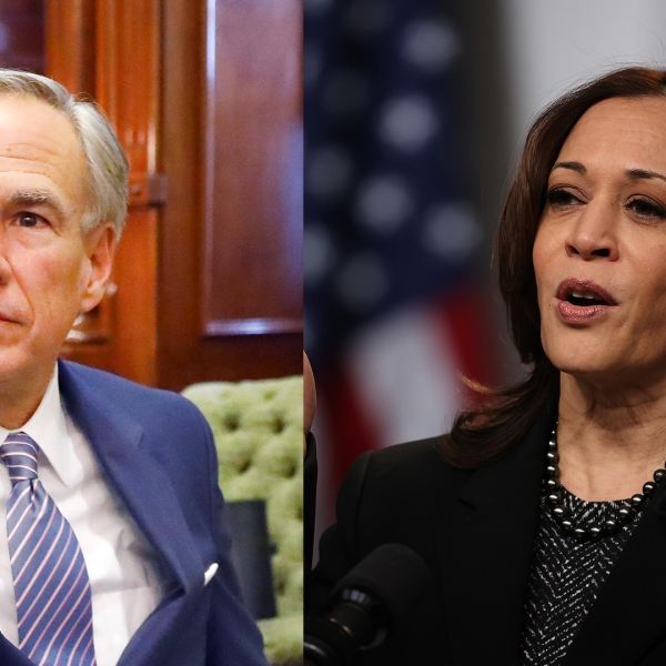 Gov. Greg Abbott sent a letter to Vice President Kamala Harris asking for the unaccompanied migrant facility in San Antonio to be closed (Getty Images)