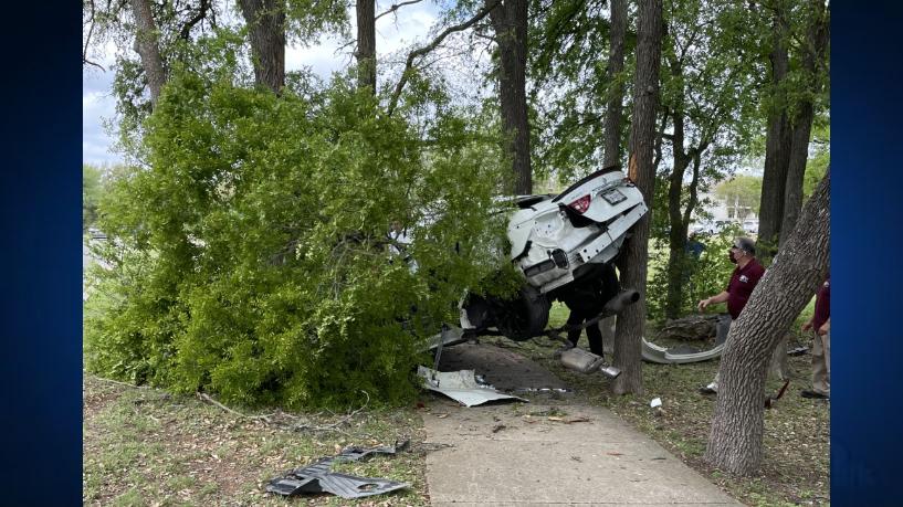 West Slaughter Lane crash 4-6-21