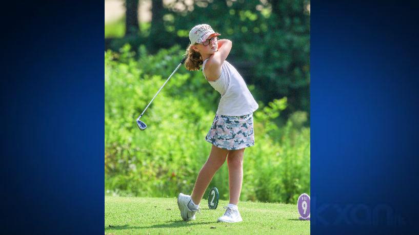 Ava Frazier Round Rock golfer