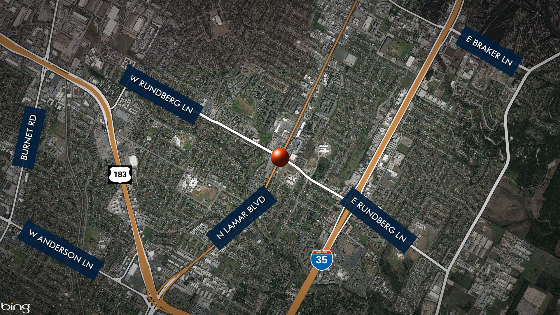 Location of homicide investigation in north Austin April 14, 2021 (KXAN map)