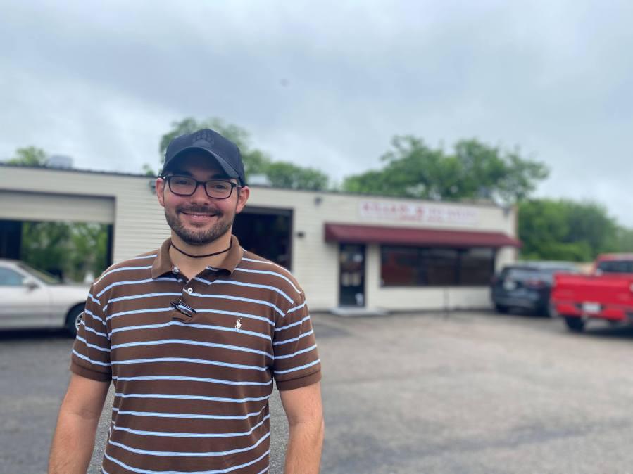 Killion Auto Sales Owner Nathan Killion  (KXAN/Kaitlyn Karmout)