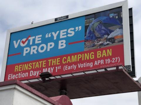 One of several billboards in town during the campaign, paid for by Save Austin Now (KXAN Photo/Chris Nelson)