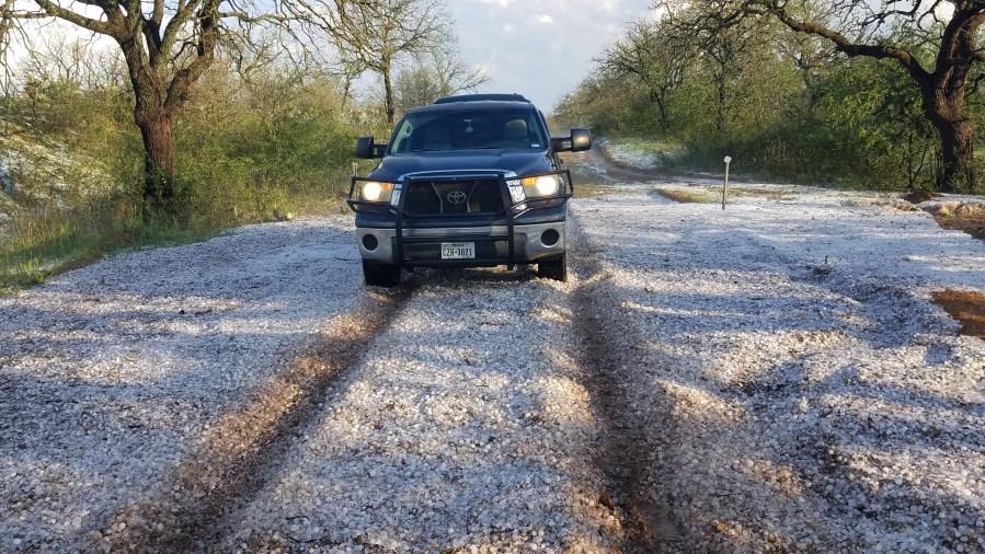 Mason County hail Tony Plutino
