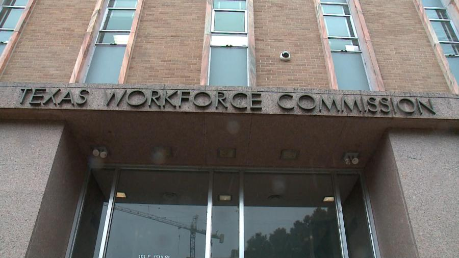 The Texas Workforce Commission reported an average of 1.7 million monthly calls to its call centers. Many calls have nothing to do with unemployment benefits and are leading to clogged phone lines, the agency claims. (KXAN Photo/Jody Barr)