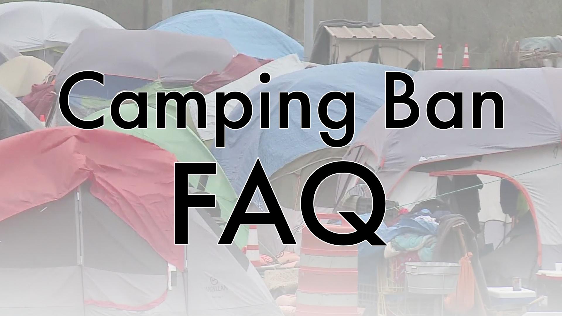 Austin camping ban FAQ