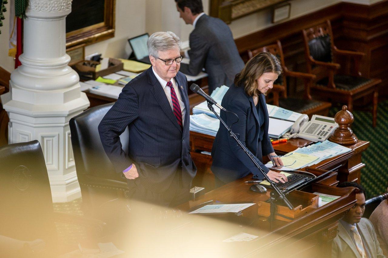 Texas Lt. Gov. Dan Patrick announces bid for re-election in 2022