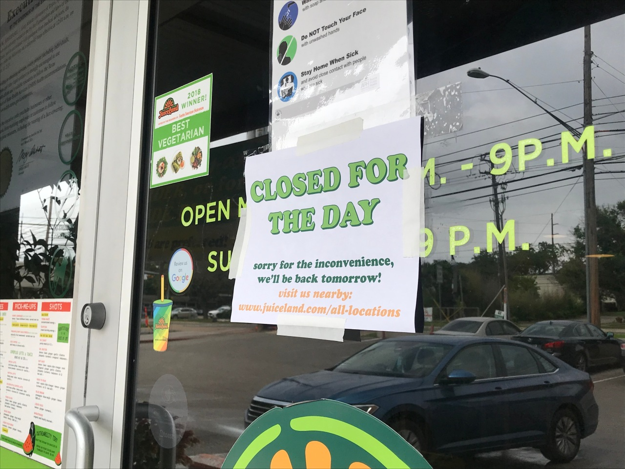 5 Austin-area Juiceland locations close, limit hours amid workers strike