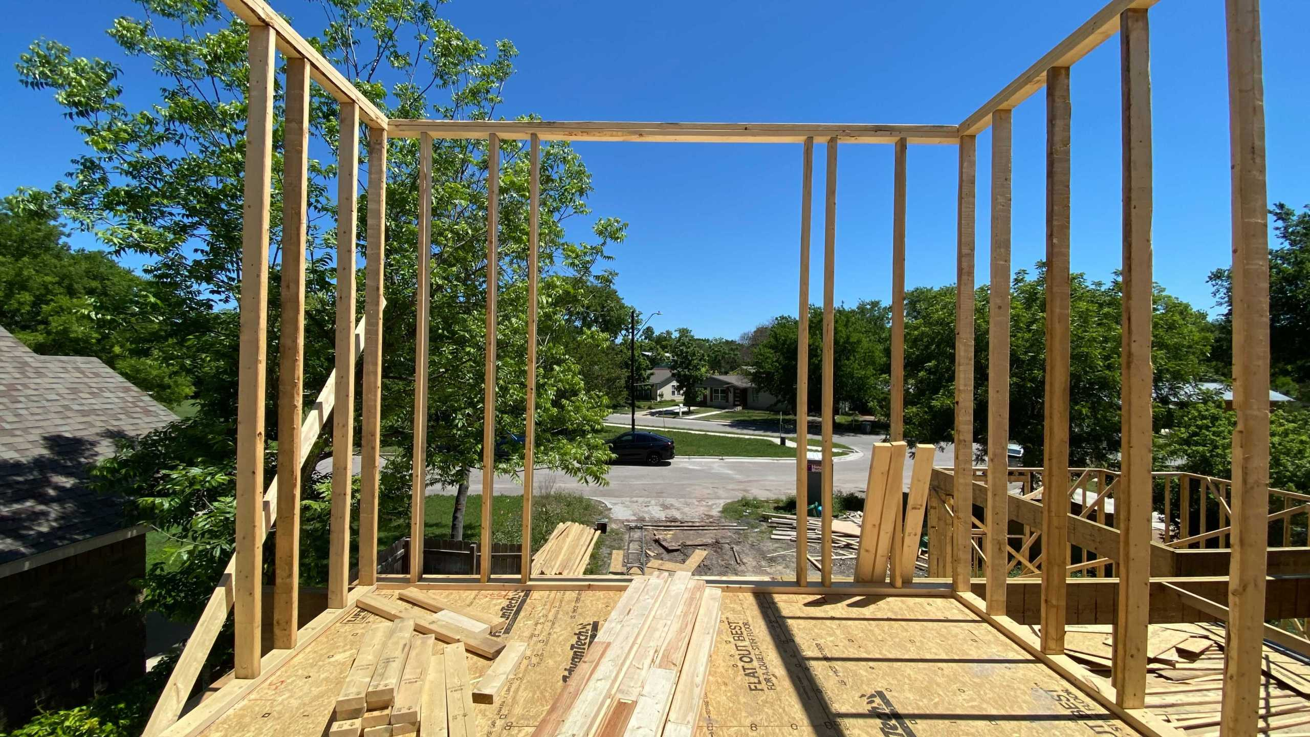 Austin realtors and builders say the cost of newly-constructed homes are spiking. (KXAN Photo/Tahera Rahman)