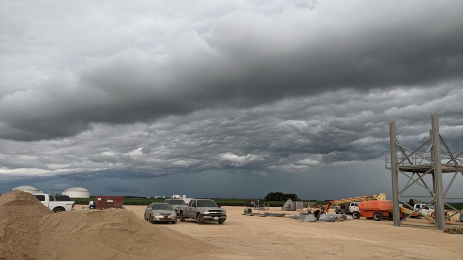 Storm clouds in Taylor (Courtesy of Jack Richards)