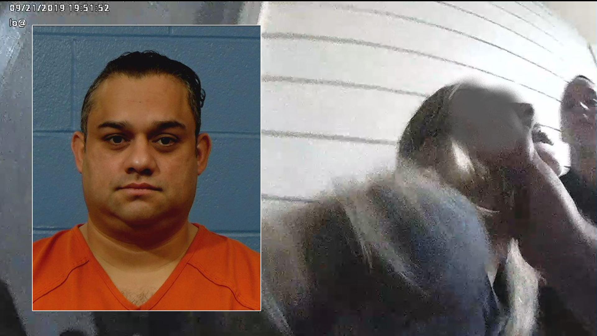 Lorenzo Hernandez mugshot plus bodycam footage