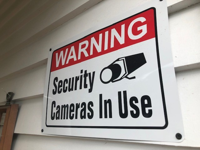 security camera sign 052421