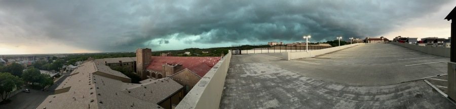 Storm over San Marcos May 18, 2021