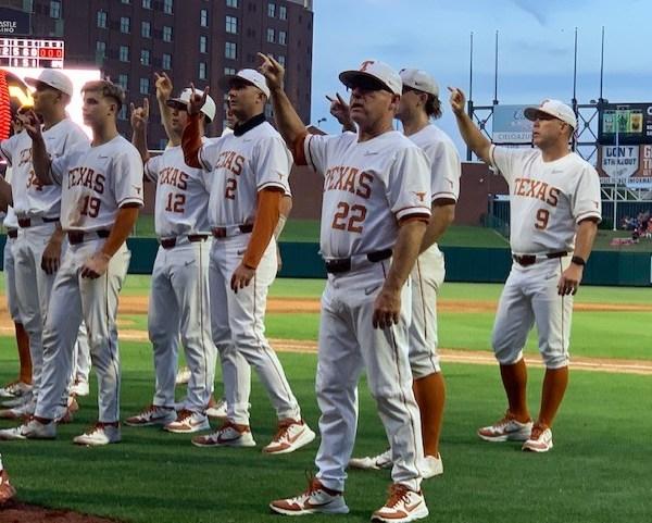 Texas baseball vs West Virginia Big 12 tournament